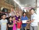 Quỹ Nhân ái tặng quà Tết đến 2 chị em Mỹ Nhân, Mỹ Ái