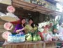 Đặc sắc gian hàng chợ quê Tết trên phố lần đầu xuất hiện ở Bạc Liêu