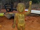 Bất ngờ tìm được tượng Phật từ thời Minh ngay bờ biển