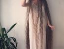 Cô gái tóc siêu dài không gội đầu suốt 20 năm