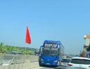 Mùng 3 Tết, xe khách lao ngược chiều trên quốc lộ 1A