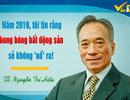 """TS. Nguyễn Trí Hiếu: Năm 2019, tôi tin rằng bong bóng bất động sản sẽ không """"nổ"""" ra!"""