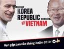 Trận siêu cúp giữa Việt Nam và Hàn Quốc tạm hoãn