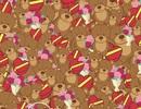 Tìm bánh quy giữa gấu bông, hoa và sôcôla