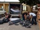 Hà Nội: Bắt giữ xe tải chở gần 2 tấn vải không rõ nguồn gốc