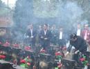 Nguyên Chủ tịch nước Trương Tấn Sang viếng liệt sĩ tại nghĩa trang Vị Xuyên - Hà Giang
