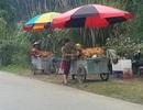 """Chính quyền manh tay dẹp, """"thịt dê bụi bẩn"""" vẫn bán tràn lan ở Tràng An"""
