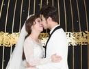 Anh Tài hôn Vũ Ngọc Ánh say đắm trong hôn lễ