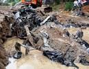 Xe ô tô chở cán bộ biên phòng bị lũ cuốn trôi được tìm thấy sau 2 năm