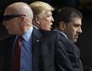 """""""Hàng rào thép"""" bảo vệ Tổng thống Trump khi công du nước ngoài"""