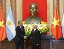 Tổng Bí thư, Chủ tịch nước Nguyễn Phú Trọng hội đàm với Tổng thống Argentina