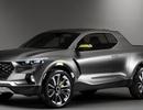 Hyundai thay đổi thiết kế của mẫu xe bán tải Santa Cruz