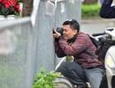 Hàng chục phóng viên vây quanh khách sạn có đoàn Triều Tiên