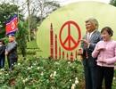 Độc đáo tượng 2 nhà lãnh đạo Mỹ - Triều tại Ba Vì