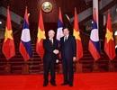 Tổng Bí thư, Chủ tịch nước Nguyễn Phú Trọng hội kiến Thủ tướng Chính phủ Lào và Chủ tịch Quốc hội Lào