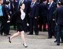 Bốn phụ nữ quyền lực tháp tùng ông Kim Jong-un tới Hà Nội
