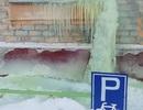 Kì dị tuyết xanh xuất hiện ở Nga