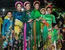 """Nhóc tỳ nhà Hà Kiều Anh, Đàm Lưu Ly, Mai Thu Huyền nổi bật sàn diễn """"Lễ hội áo dài 2019"""""""