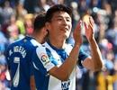 Cầu thủ Trung Quốc đầu tiên ghi bàn ở La Liga