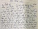 Bắc Giang: Thầy giáo nghi dâm ô 13 học sinh viết đơn xin ra khỏi ngành