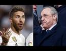 Sergio Ramos cãi nhau với Chủ tịch Florentino Perez, Real Madrid sắp loạn