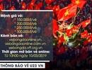 Giá vé xem U23 Việt Nam tại vòng loại U23 châu Á cao nhất 300.000 đồng