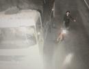 Nhóm côn đồ dùng dao rựa chặn xe tải trong hầm Phước Tượng