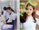 Nữ sinh ngành Y xinh đẹp bất ngờ nổi tiếng do... ngủ gật