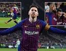 Betis 1-4 Barcelona: Cú hattrick của Messi