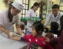 Vụ học sinh nhiễm sán lợn: Học sinh ùn ùn đến xét nghiệm tại trường