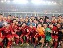 Cầu thủ U23 Việt Nam vỡ òa hạnh phúc sau chiến thắng đậm Thái Lan