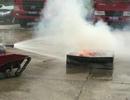 Học sinh lớp 12 chế tạo robot cứu hỏa giá rẻ