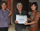 Hơn 22 triệu đồng tiếp tục đến với cụ Vũ Văn Lâm