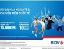 Ưu đãi khi mua ngoại tệ và chuyển tiền quốc tế tại BIDV