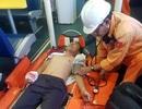 Cứu hộ thuyền trưởng bị dập nát bàn tay trên vùng biển Hoàng Sa