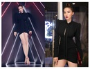 Hoa hậu Kỳ Duyên ăn mặc hớ hênh khoe đôi chân sexy 1m10