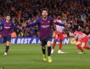 Barcelona 2-0 Atletico: Messi, Suarez bừng sáng phút cuối