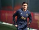 Sanchez, Rashford trở lại tập cùng Man Utd chuẩn bị đón Barcelona