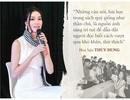 Câu nói khơi gợi khát vọng giới trẻ của Hoa hậu, Á hậu nổi tiếng Việt Nam