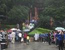 Phú Thọ mưa giông vào ngày giỗ Tổ Hùng Vương