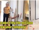 Chủ nhà dùng búa tạ phá tanh bành căn hộ cao cấp vì chất lượng thấp