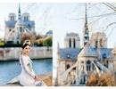 Hoa hậu Ngọc Hân, Phí Linh xót xa kể kí ức về Nhà thờ Đức Bà Paris