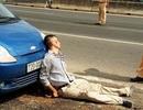 """Tài xế lái ô tô """"ép"""" chết CSGT từng ném """"bom khói"""" vào ngân hàng"""