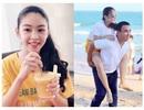 """Con gái Quyền Linh ra dáng thiếu nữ xinh đẹp dịu dàng như """"Hoa hậu tương lai"""""""