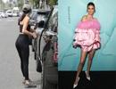 Kendall Jenner khoe chân dài nuột nà