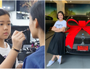 Chuyên gia trang điểm 12 tuổi tự mua xe BMW ăn mừng sinh nhật