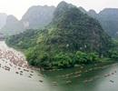 Ninh Bình: Hàng nghìn người dự lễ hội Tràng An