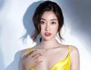 """Vẻ quyến rũ của """"Hoa hậu nghèo nhất trong các Hoa hậu"""" khi trở thành MC VTV"""