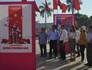 Khai mạc triển lãm tranh cổ động kỷ niệm 60 năm Ngày mở đường Hồ Chí Minh