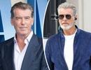 """Pierce Brosnan gây sốc với vẻ đẹp kiểu... """"râu tóc bạc phơ"""""""